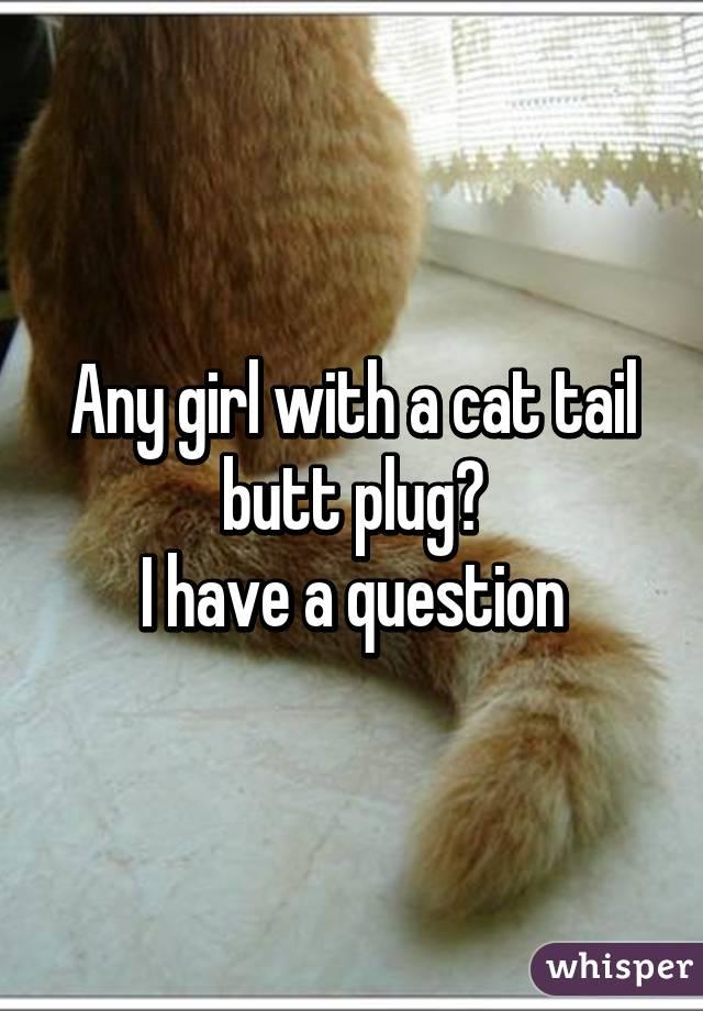 Cat tail dildo