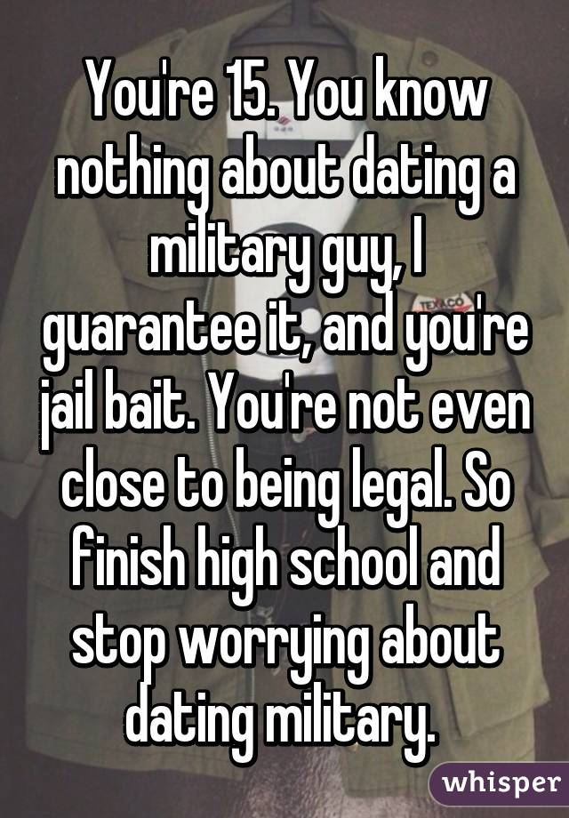 what to expect when dating an army guy