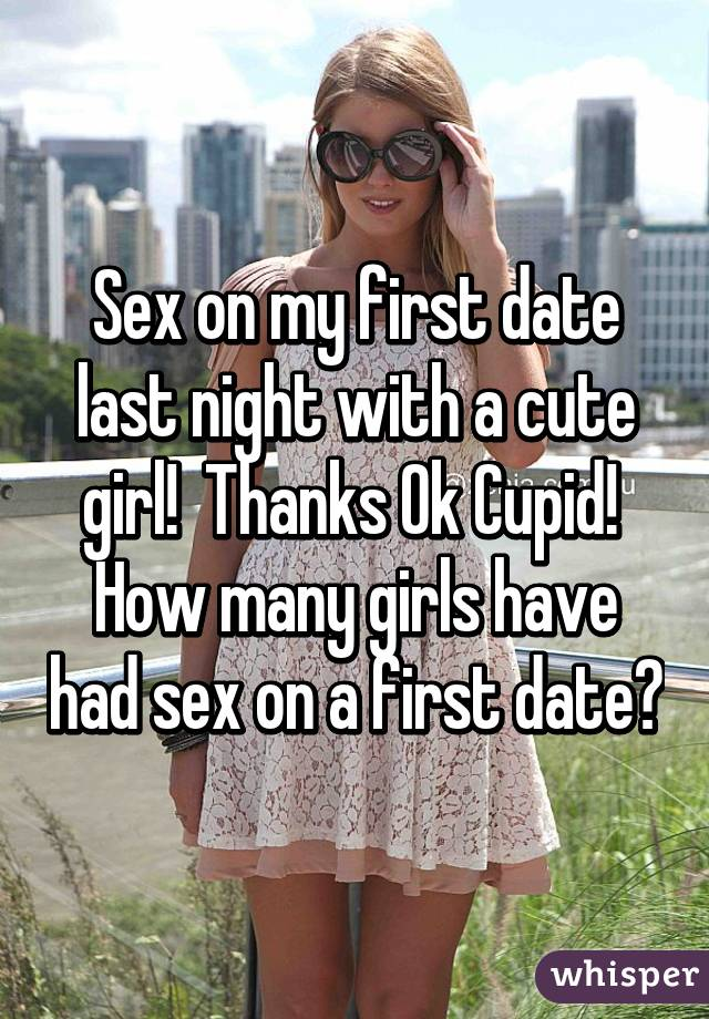 My First Date With A Girl