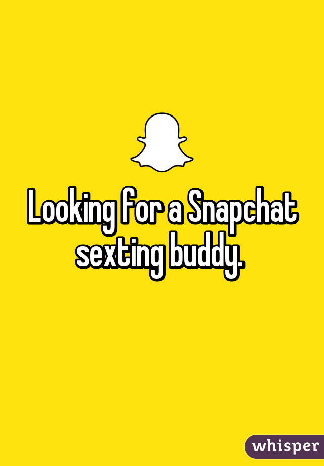 Snap chat sexting