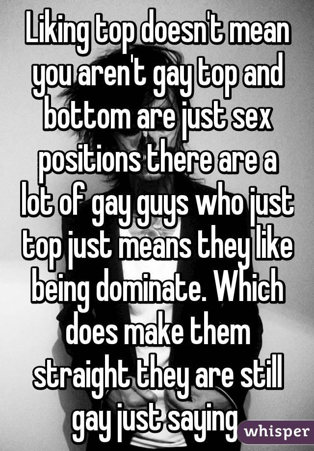 Gay sec positions