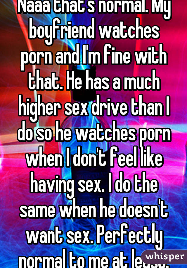 why does my boyfriend watch so much porn