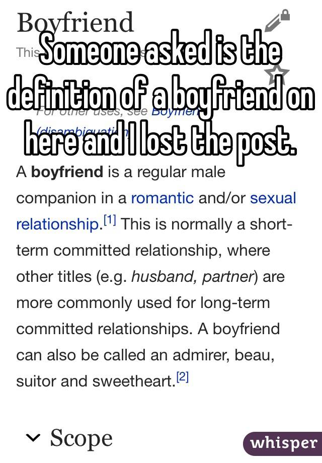 Companion definition relationship