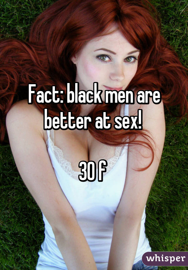 Are black girls better at sex