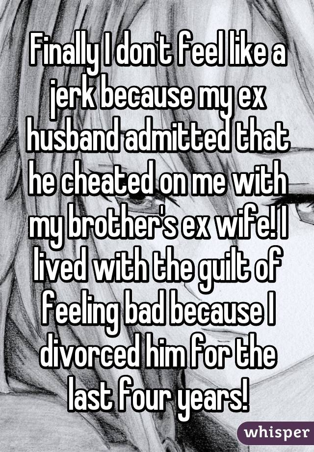I Cheated With My Ex and Feel Terrible About It...