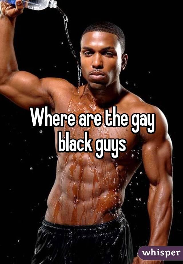 Gay black guys