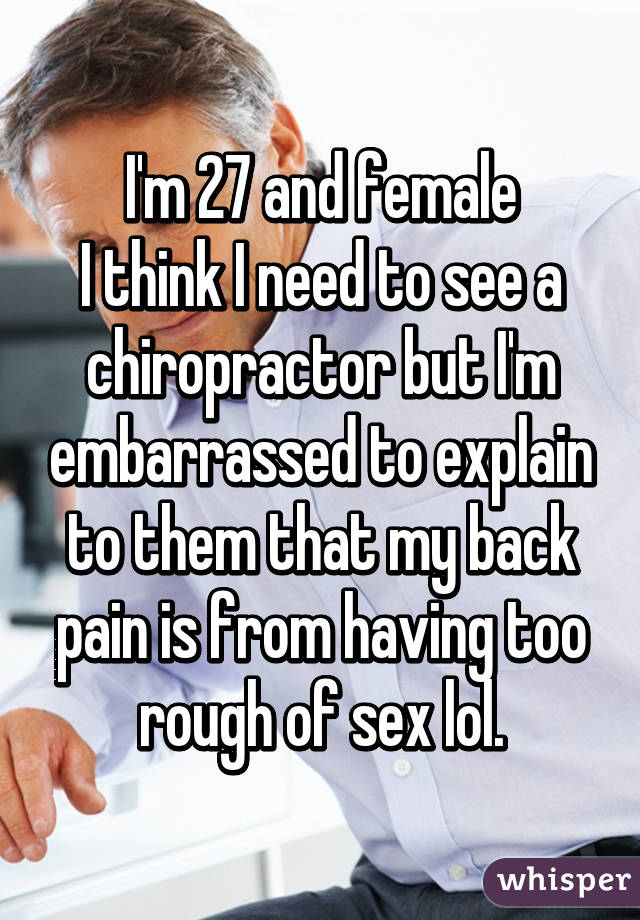 Especial. sex with chiropractor pics message