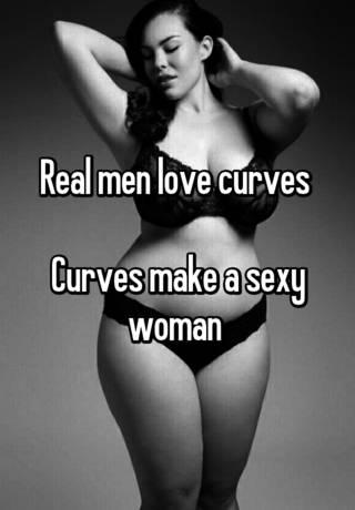 Why do guys love curves