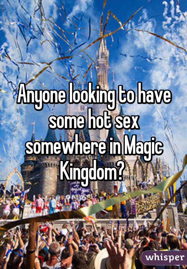 Have sex in the magic kingdom
