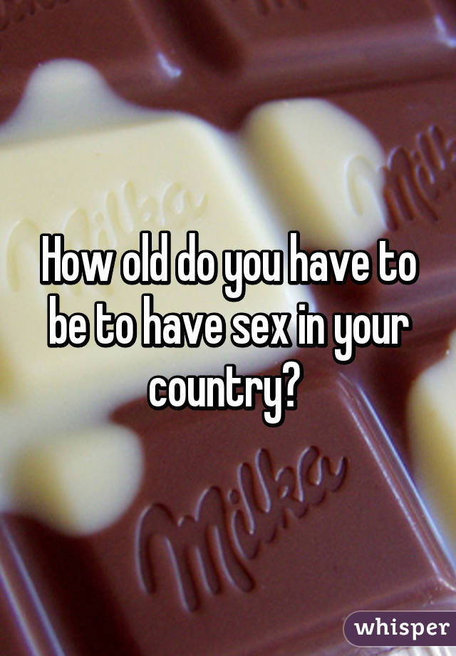 How old do u have to be to have sex Nude Photos 39