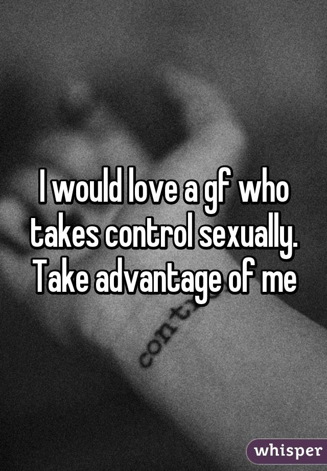 Taking advantage of someone sexually