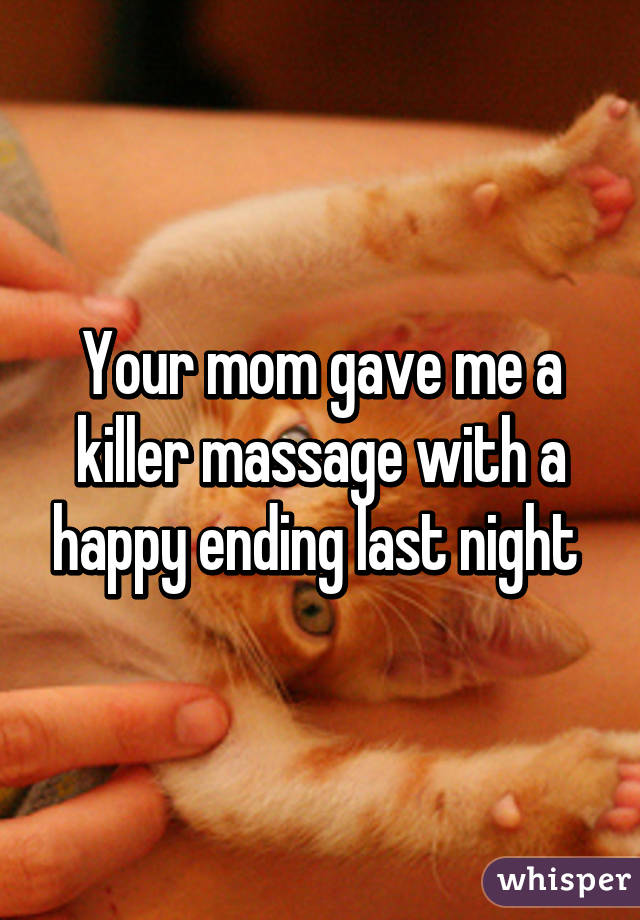 Wife Happy Ending Massage