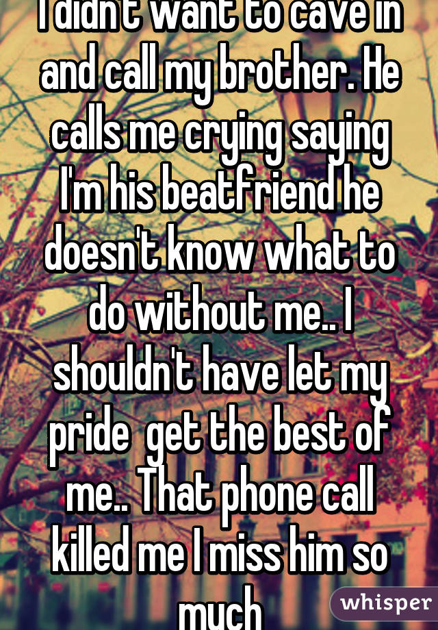 He Calls Me On The Phone
