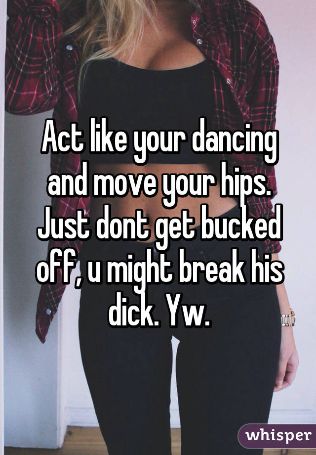 Dancing on his dick