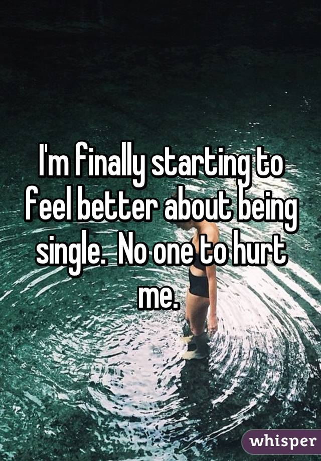 Feeling down about being single