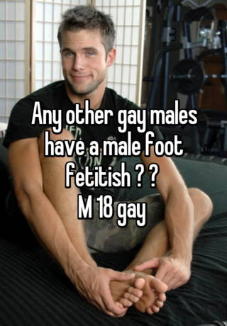 Gay male foot