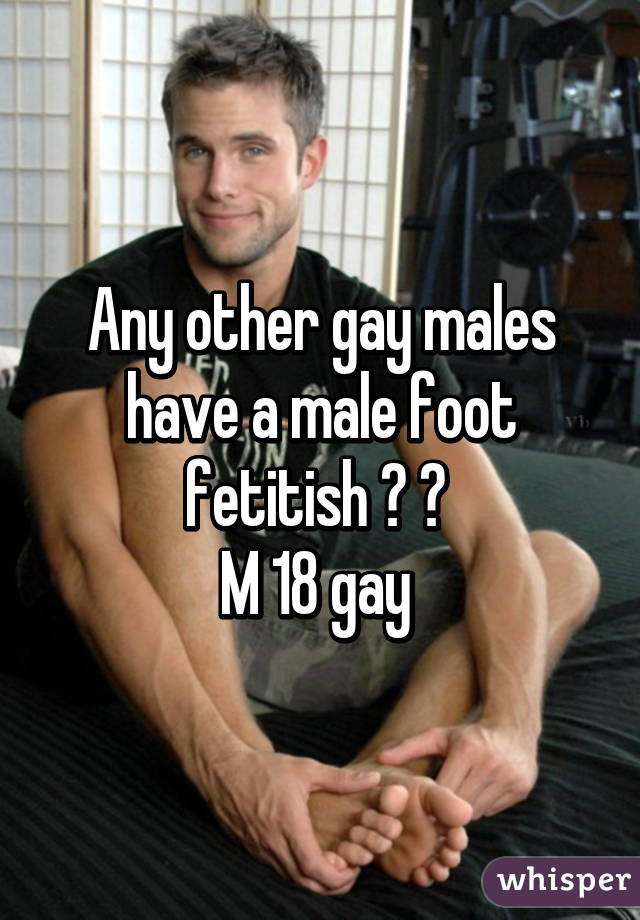 Foot Gay Male