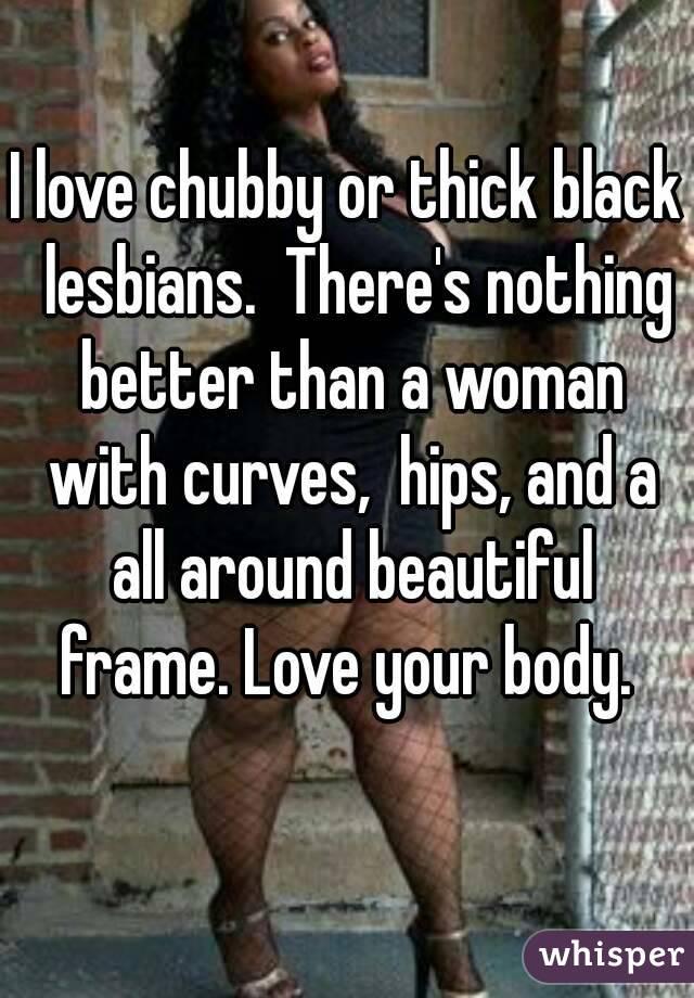 Black lesbian thick