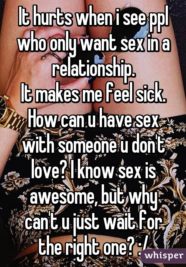 I want to know how to do sex