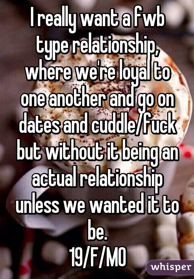 Fwb type relationship