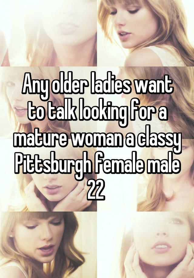 Seeking Pittsburgh men women