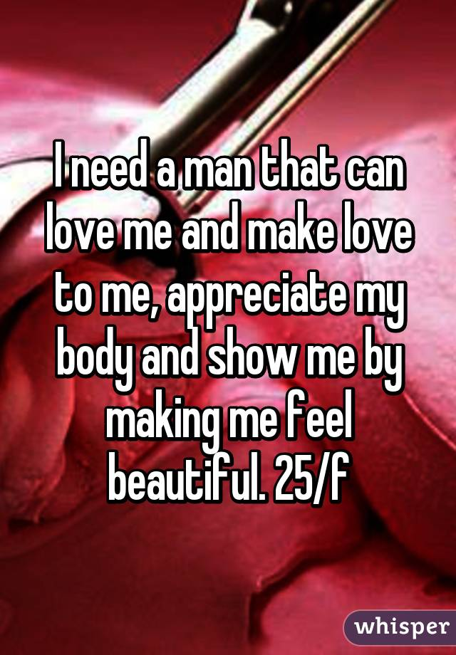 Show How To Make Love To A Man