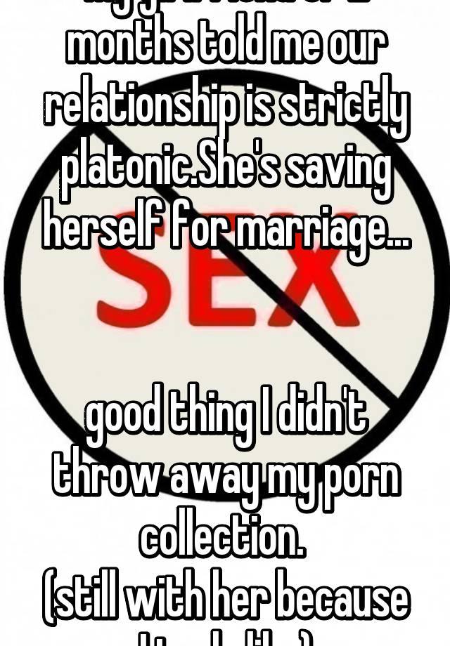 Platonic girlfriend