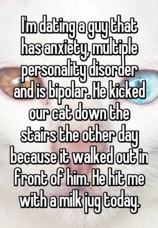 Dating someone with split personality disorder