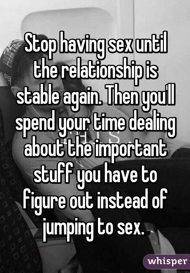 When To Have Sex In Relationship