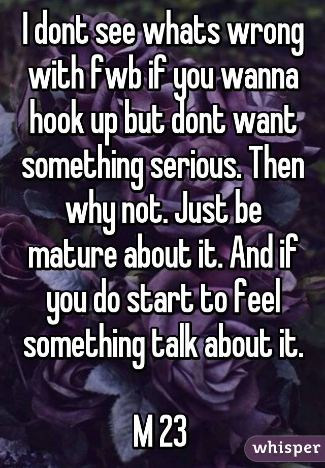 Are Hookup To Talk Just What About Started the