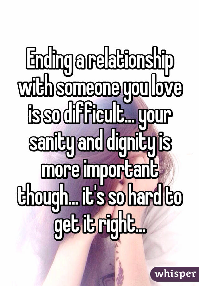 Relationships are so hard