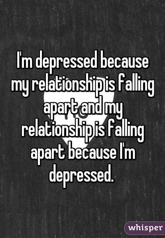 I Am So Depressed In My Marriage