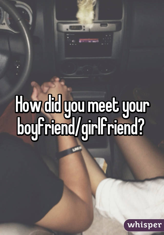 A I Where Girlfriend Meet Can