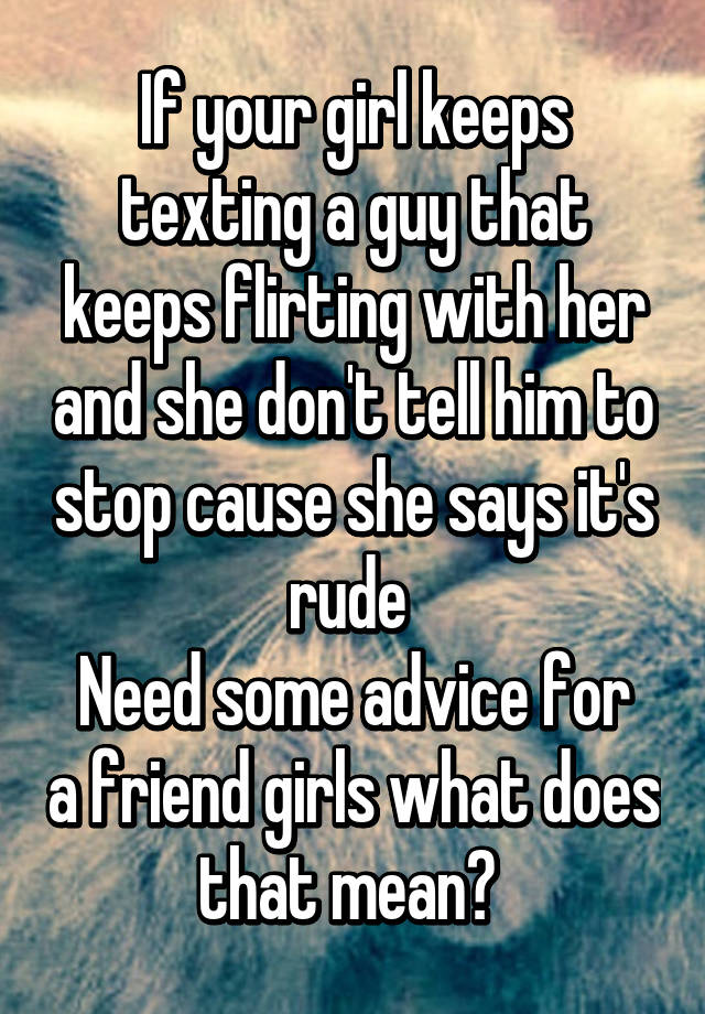 texting guys advice