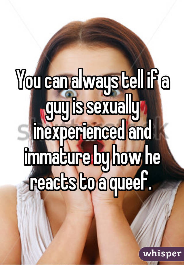 Sexually inexperienced
