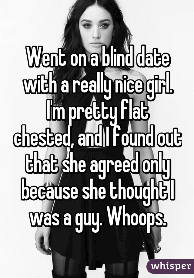 Flat chested dating