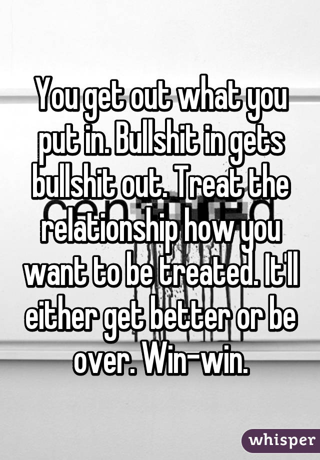 what to get out of a relationship