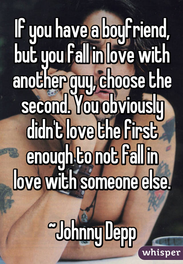 how not to fall in love with a guy