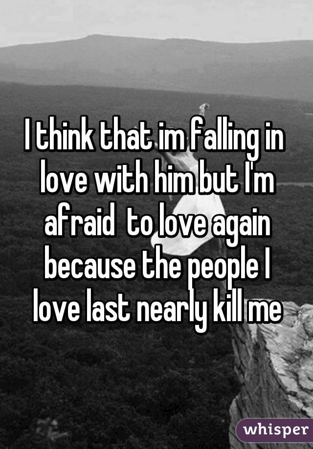 I M Falling In Love With Him