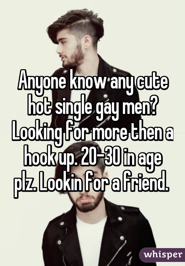 Hot single gay men
