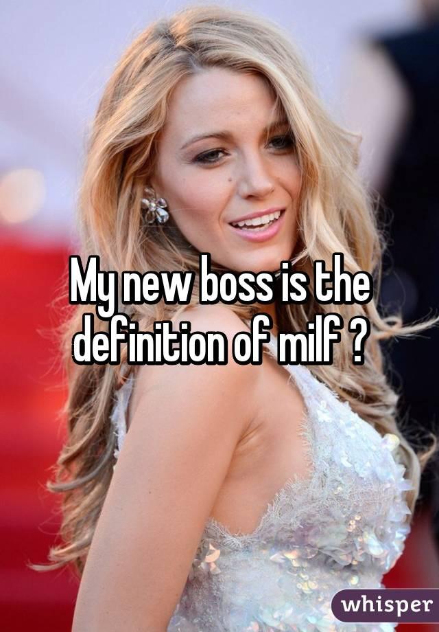 Defination on milf you