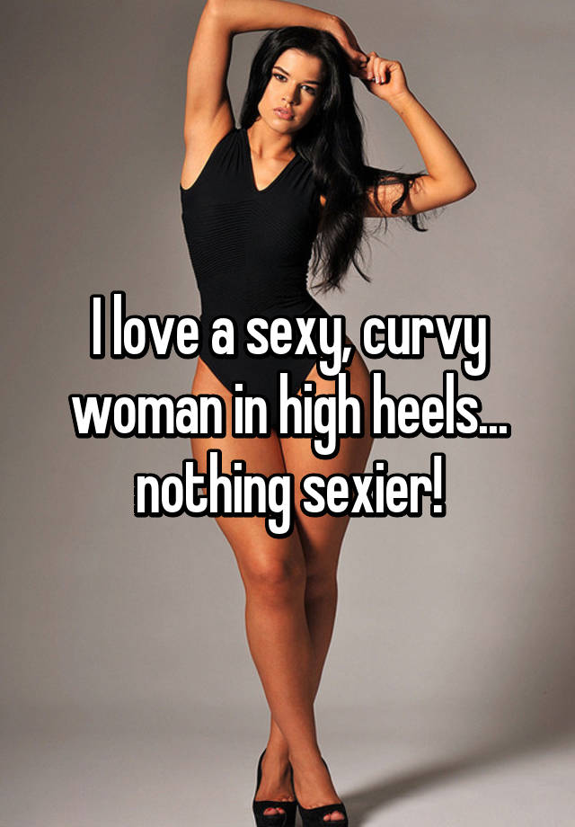 Curvy women are sexy