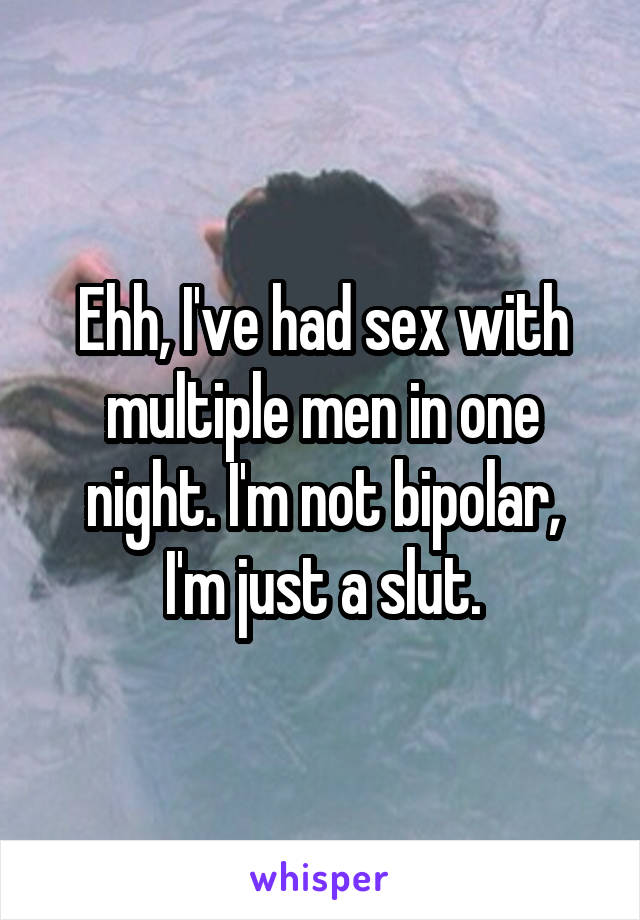 Ive not had sex for