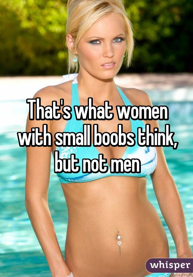 Pictures of women with small boobs