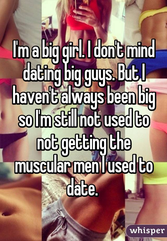 not dating fat guys