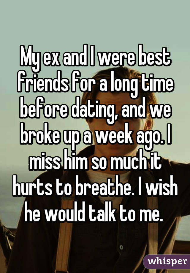 Friends For A Long Time Before Dating
