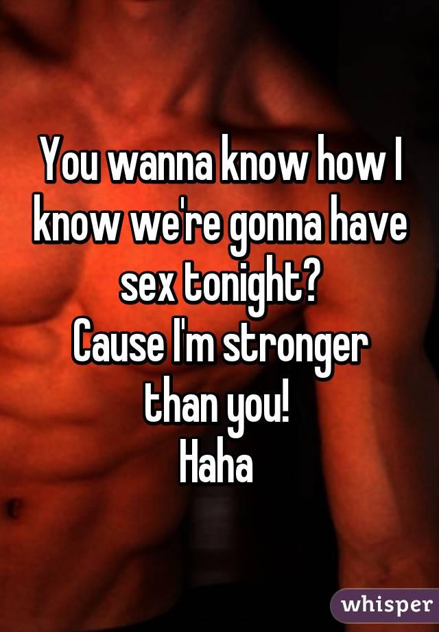 How do i know sex