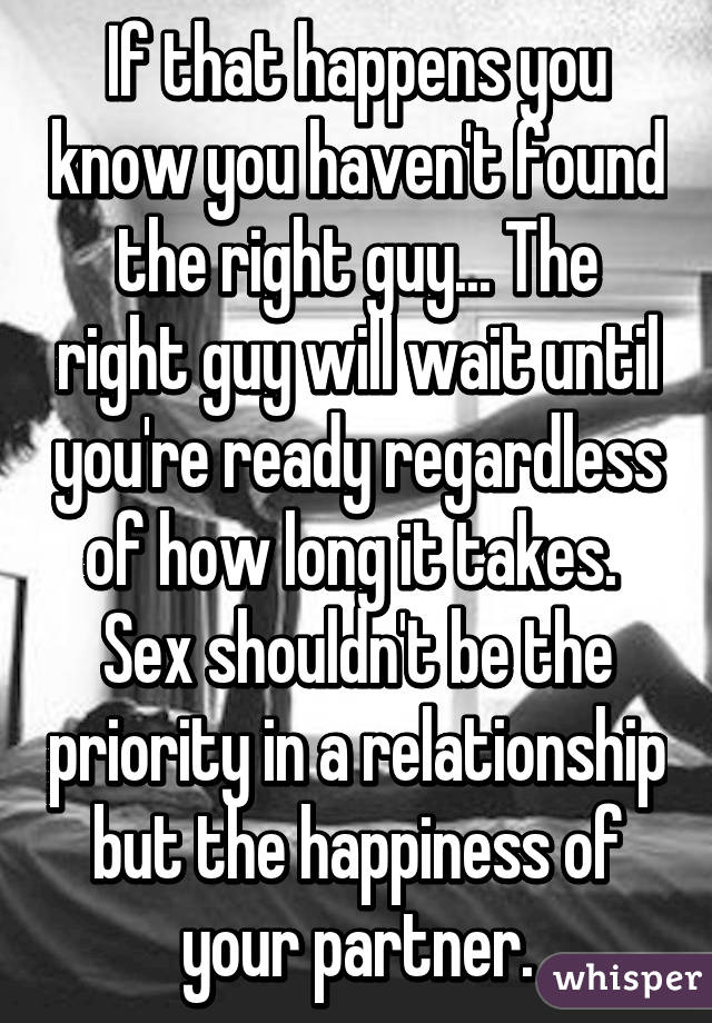 How Do You Find The Right Guy
