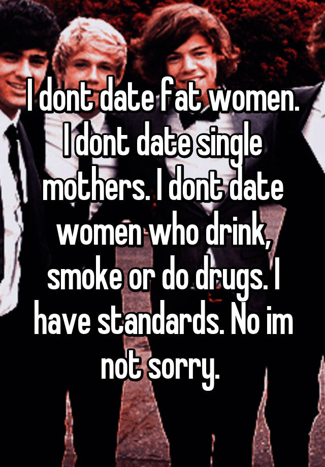 Dont date single moms