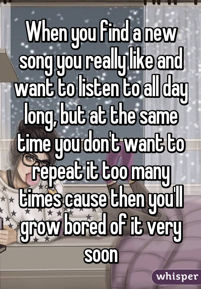 I want to listen song